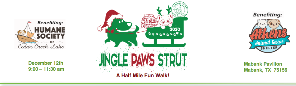 Jingle Paws Strut Banner