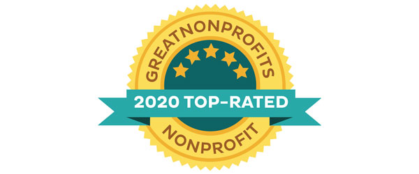 Great Nonprofits 2020 Top Rated