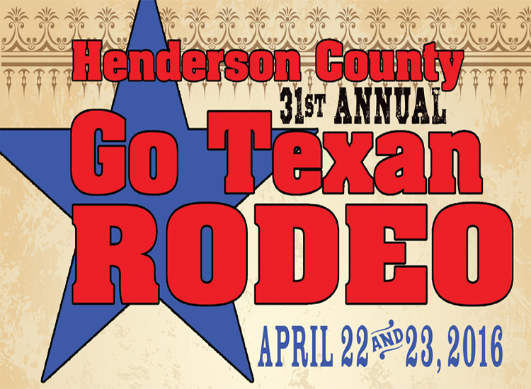 31st Annual Henderson County Go Texan Rodeo to Kick-Off April 22 and 23