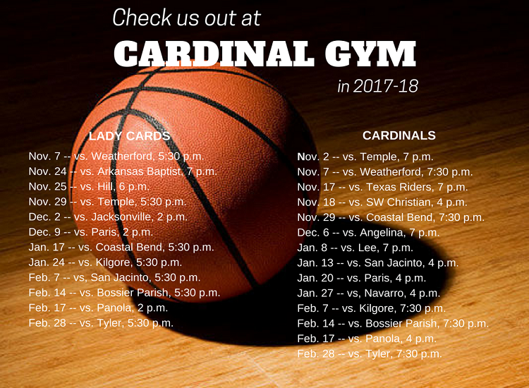 Trinity Valley Community College Basketball Schedule