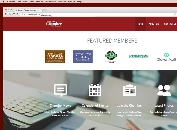 Athens Chamber relaunches its website