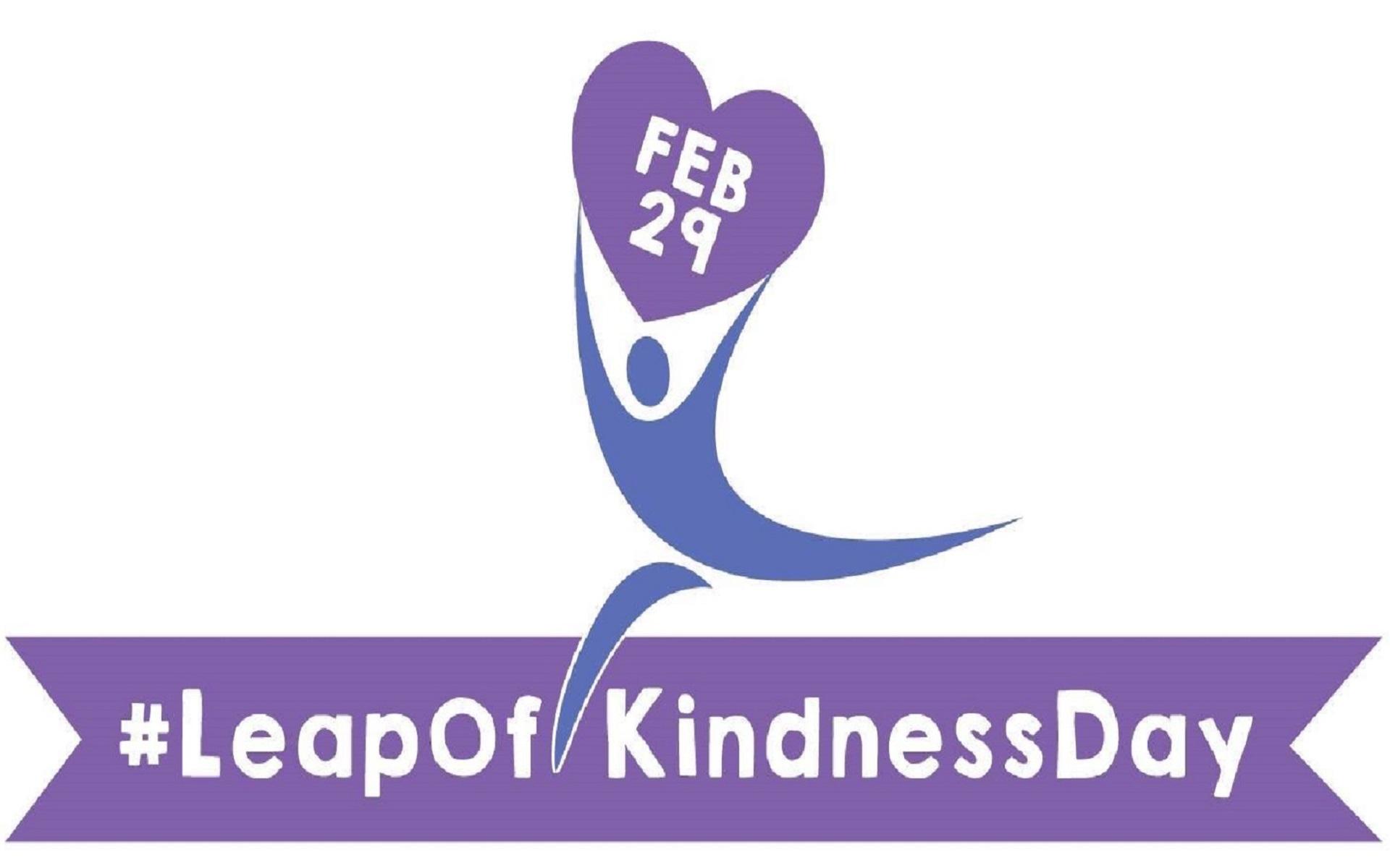 #LeapOfKindnessDay