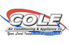 Cole Air Conditioning & Appliance Co.