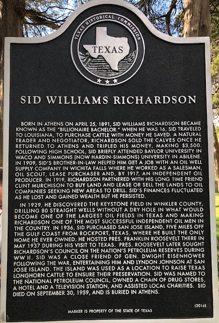Marker   Sid Richardson