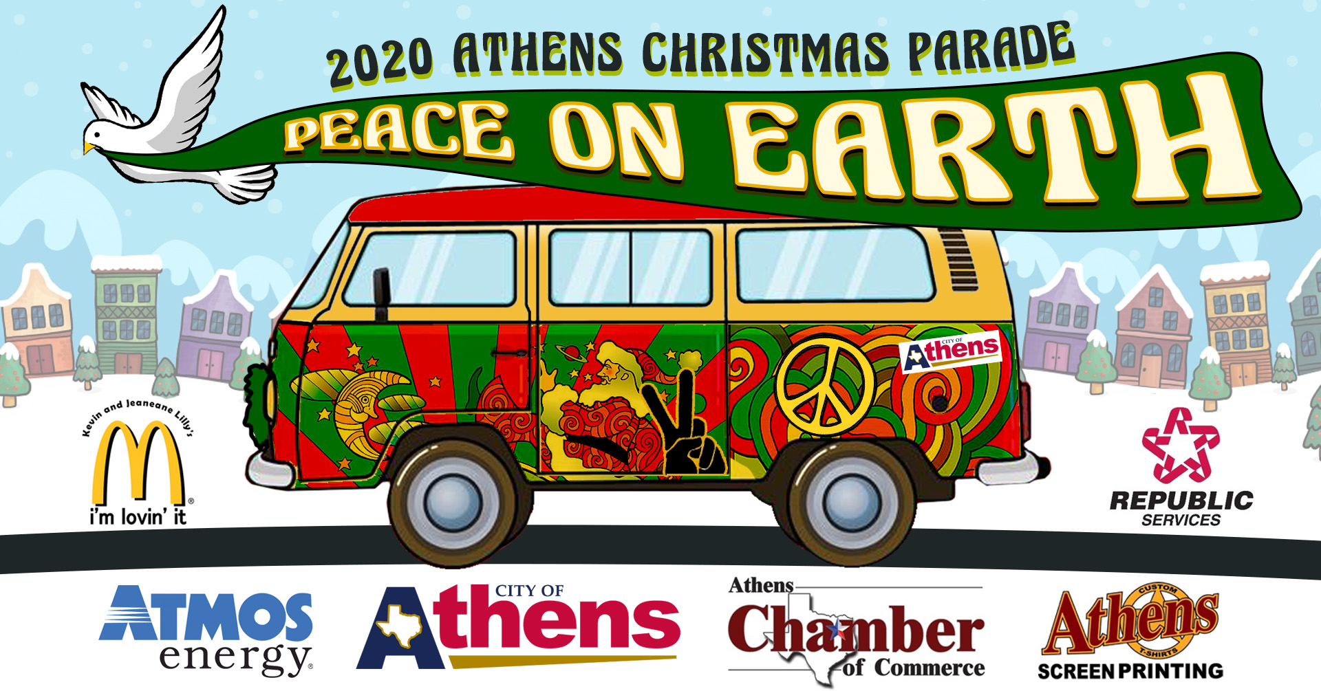 2020 Athens Christmas Parade | Athens Tourism | December 5, 2020