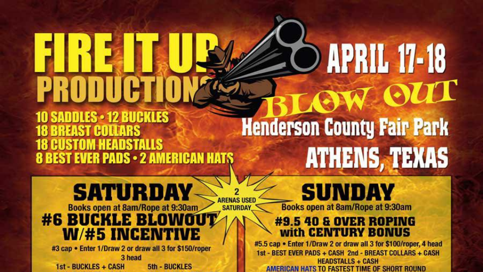 Fire It Up Productions: Blow Out