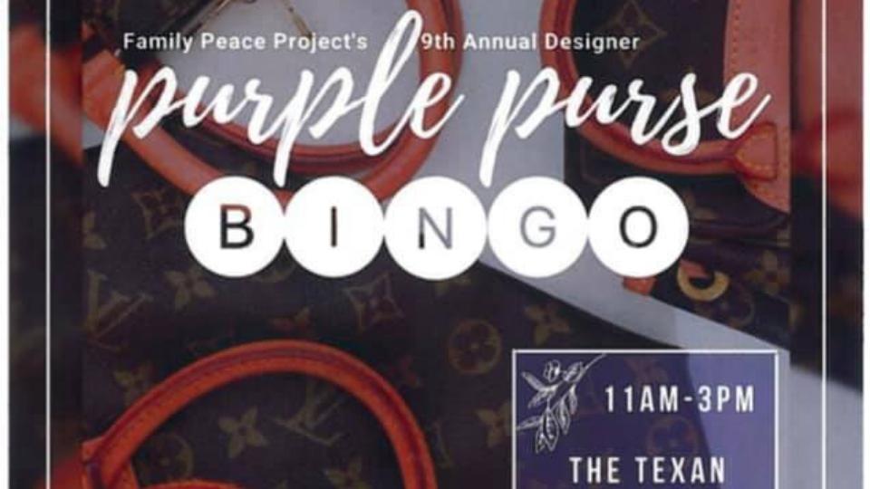 Purple Purse Bingo