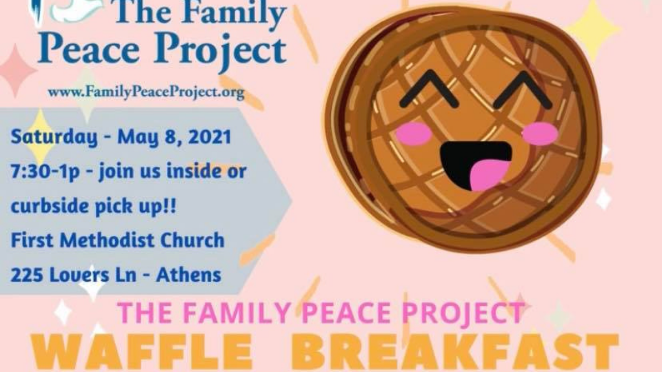 The Family Peace Project Waffle Breakfast