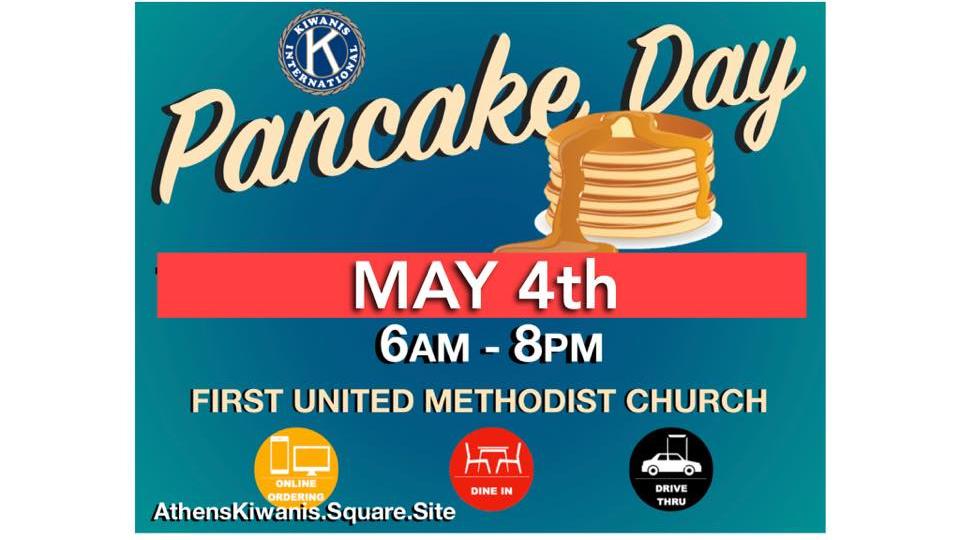 Athens Kiwanis Pancake Day