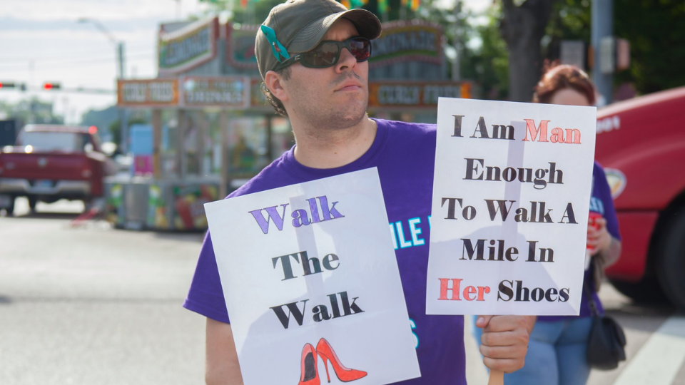 9th Annual Walk A Mile In Her Shoes