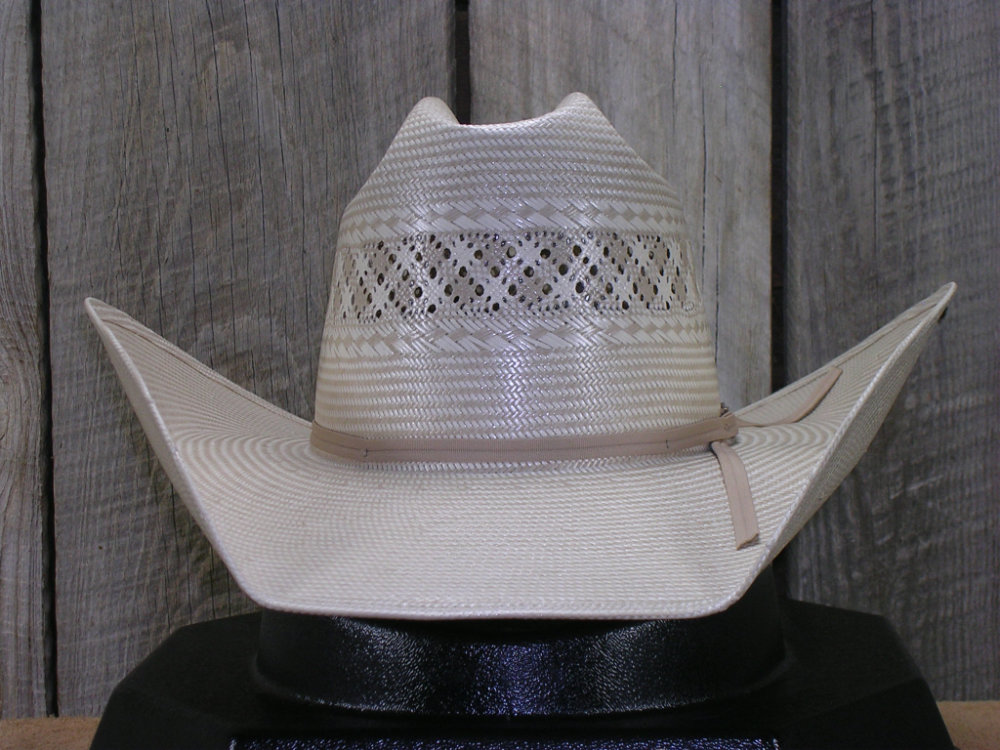 American Straw Hat Two Tone