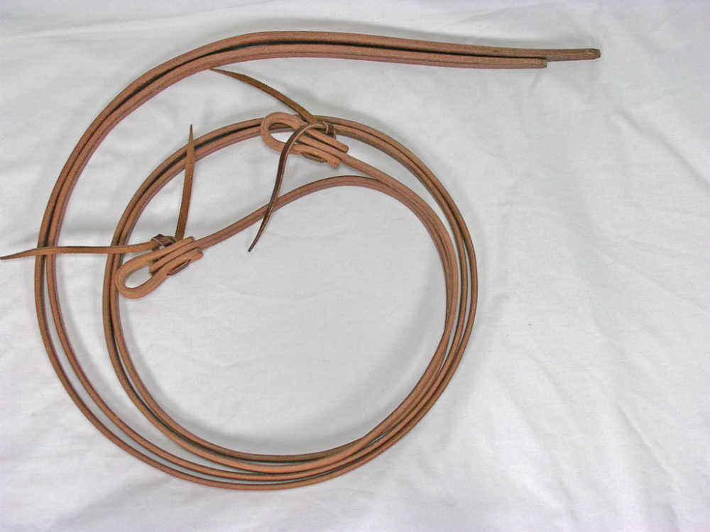 Cowhorse Equipment Harness Leather Reins 1/2