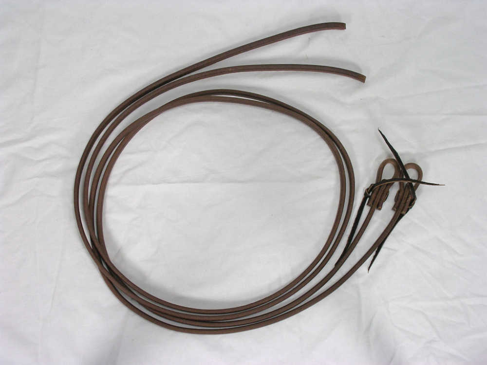 Cowhorse equipment Harness Leather Reins 3/4