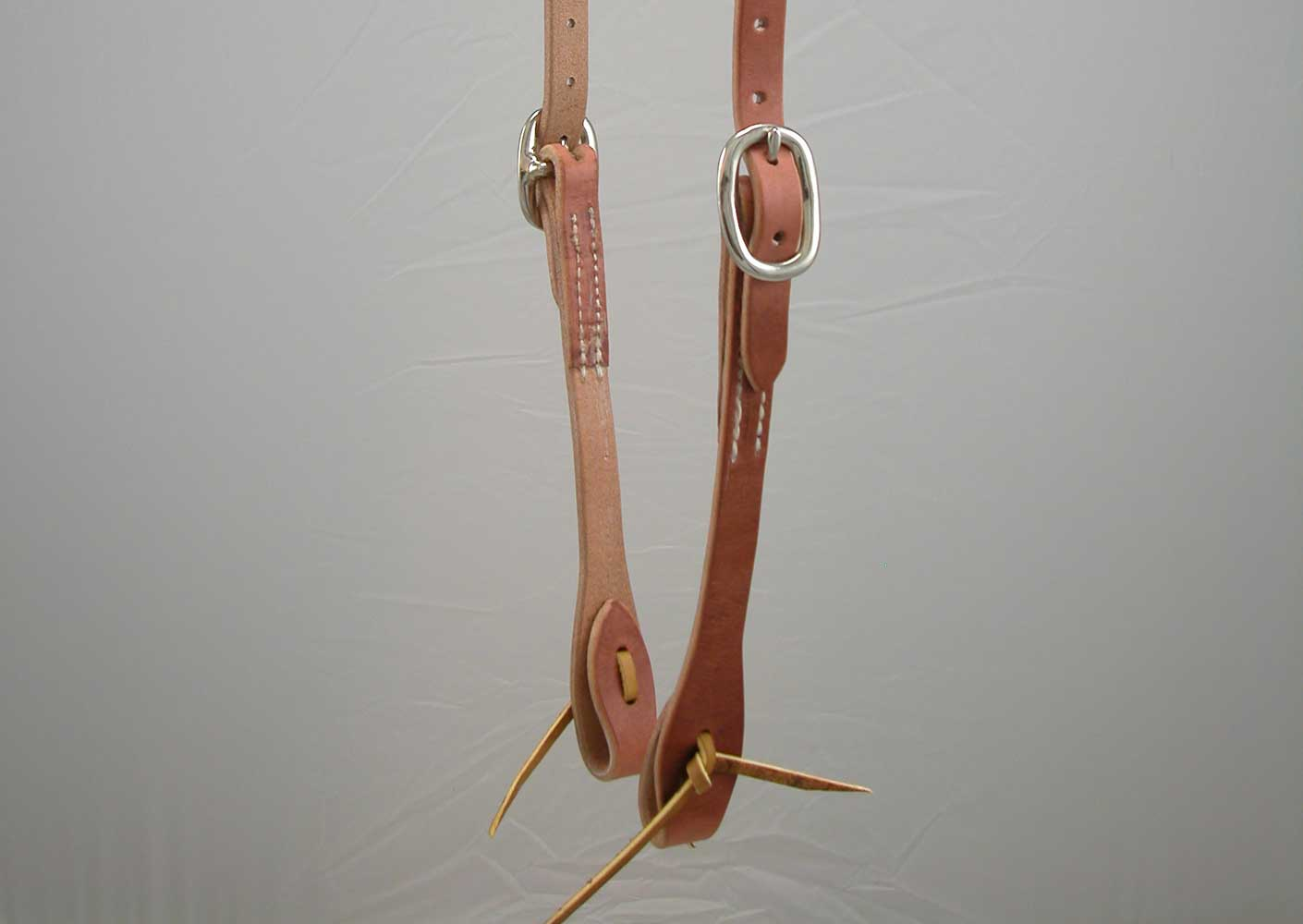 Harness Leather Slot Ear Headstall