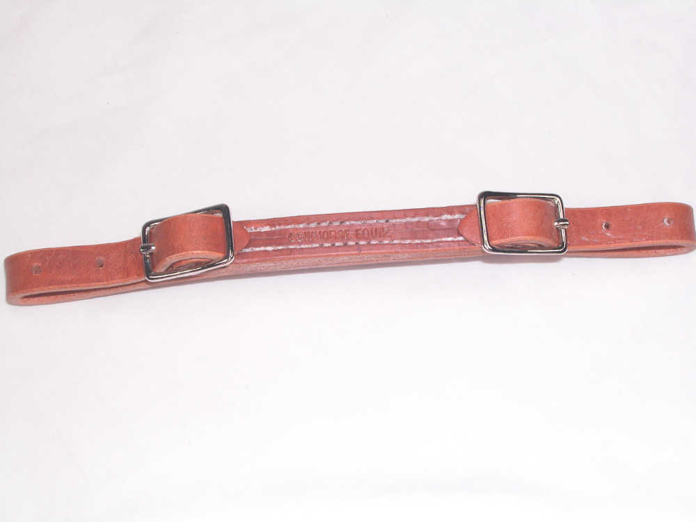 Heavy Leather Curb Strap
