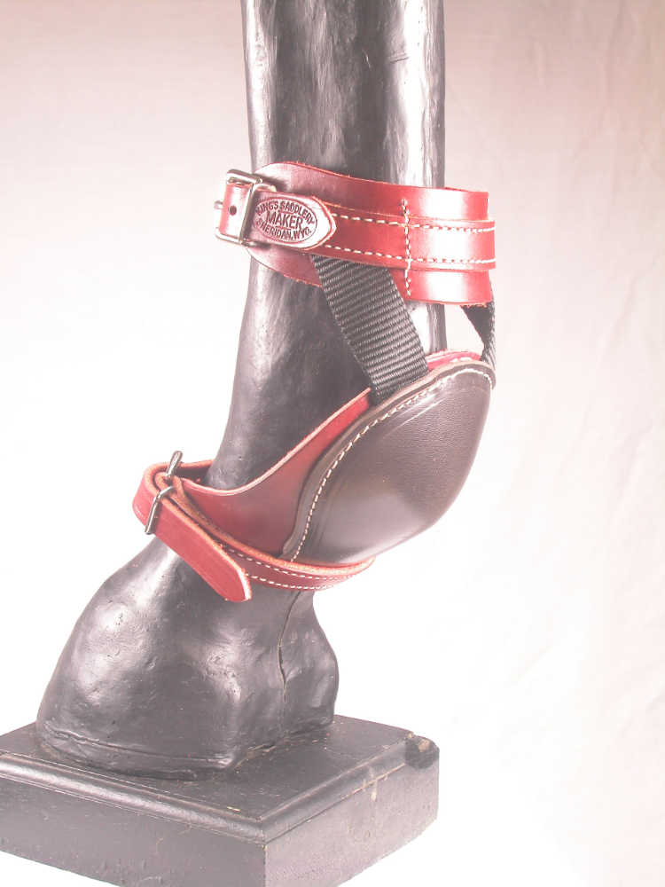 Leather Skid Boot