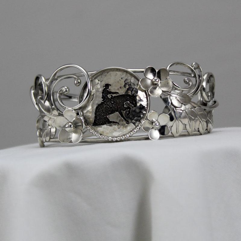 Custom Cuff Bracelet with Reiner