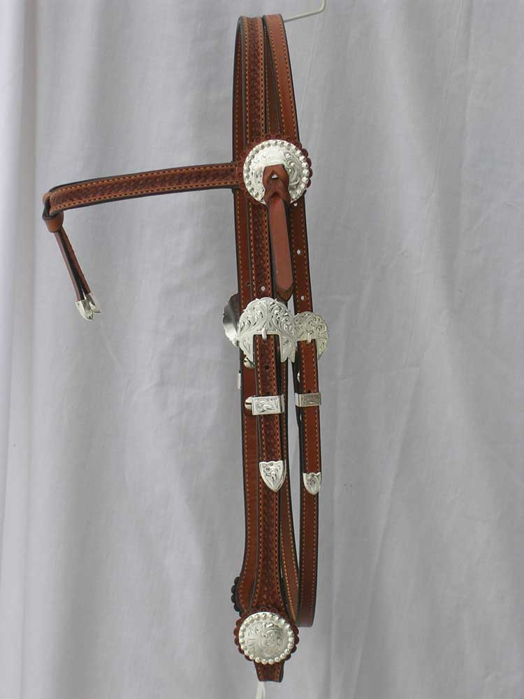 Cowhorse Futurity Knot Browband Headstall