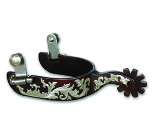 Avila Ladies Floral Spurs