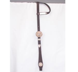 Berry Concho Buckle Headstall