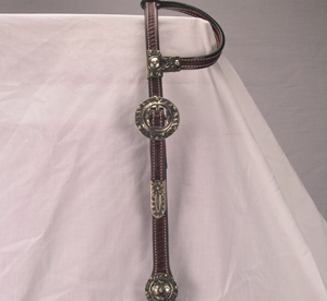 Cowperson  Sunflower Headstall, Dark