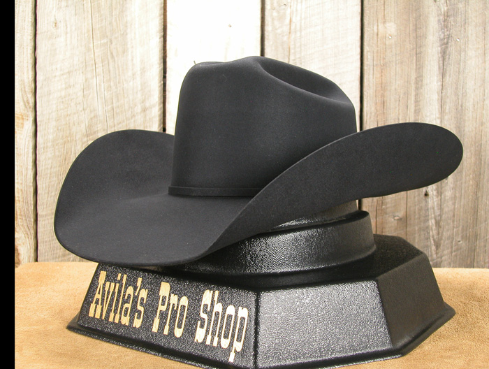 Custom Felt Hat by Butch Dorer