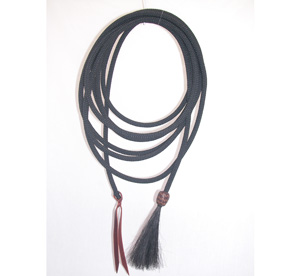 Climbing Rope Mecate w/ Braided Pineapple knot