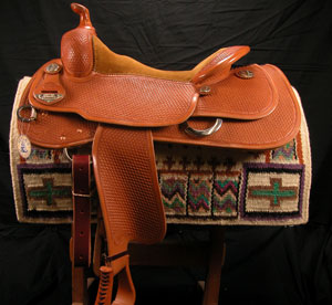 Lady Reiner by Bob's Custom Saddles