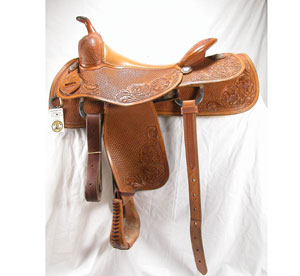 Todd Bergen Cowhorse Saddle Used