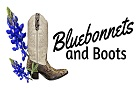 bluebonnets and boots logo