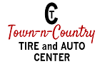 Logo Town and Country Tire 140x90
