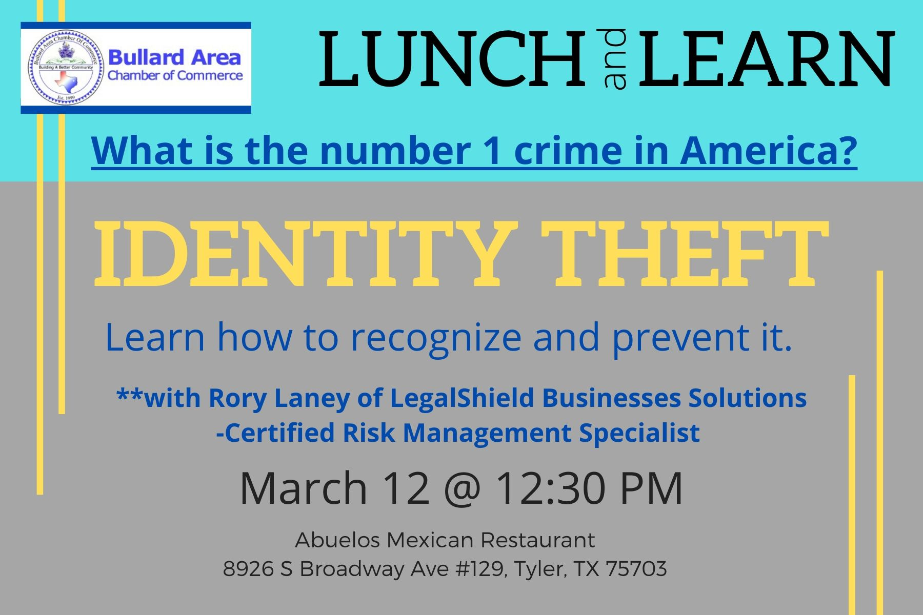 Lunch & Learn March 2020