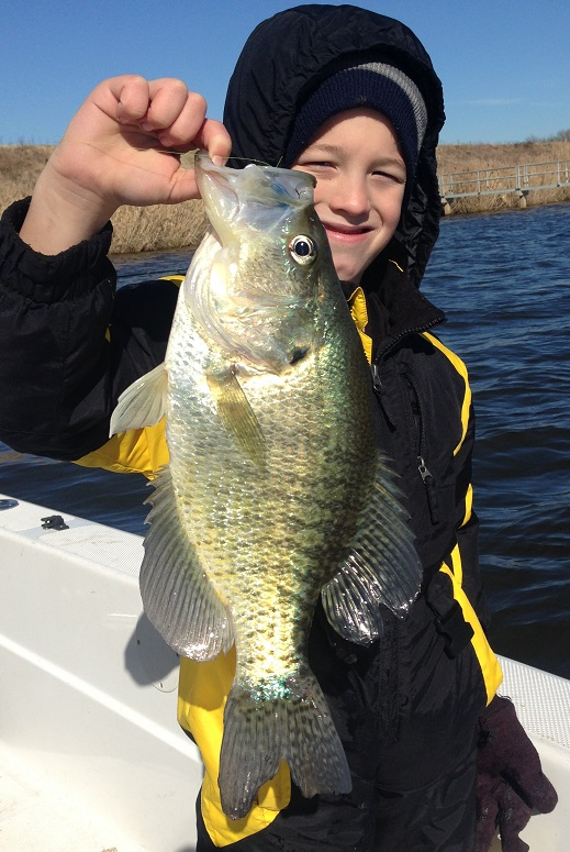 Colton holding water body record Crappie