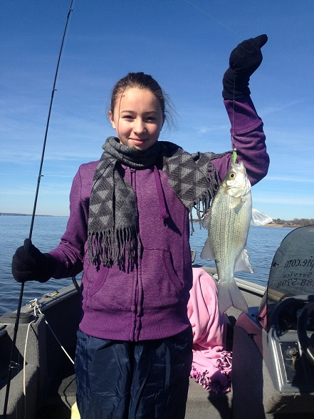 1-5-15 Victoria fishing with daddy CCL Tx