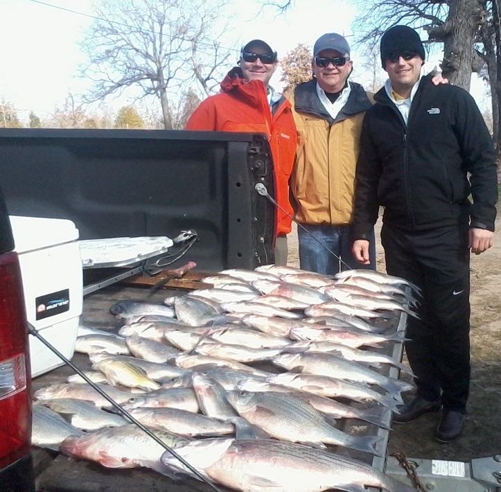Cedar creek lake fishing report february 2015 whites for Cedar creek fishing report