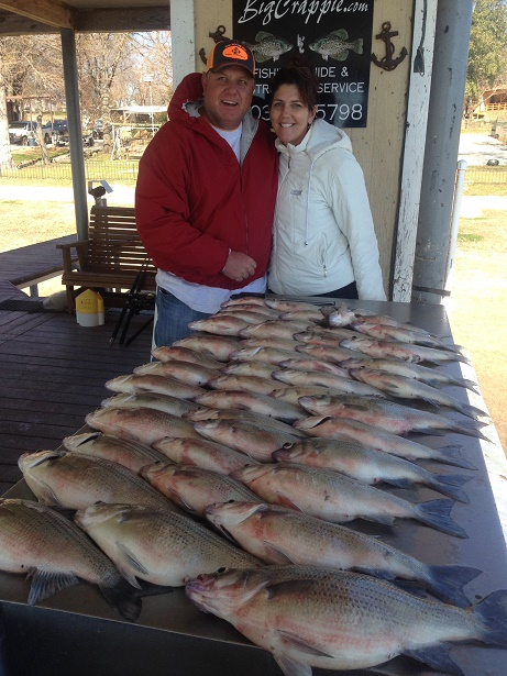 Cedar creek lake report 2 16 15 whites hybrids for Cedar creek fishing report