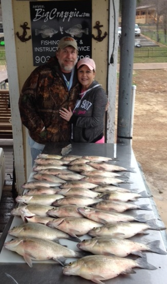 Ackers Keepers with BigCrappie Guides CCL Tx