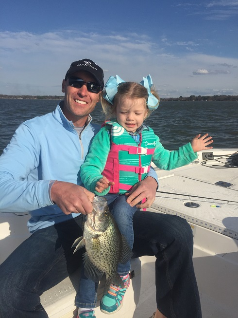 Dad & Daughter Fishing