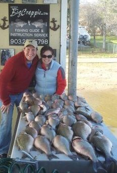03-09-14 AM Keepers with BigCrappie.com on Cedar C