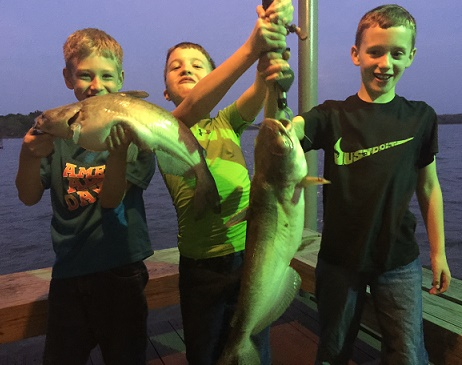 Colton and Friends Night Fishing