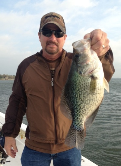 04-03-14 3lb Crappie with BigCrappie.com CCL