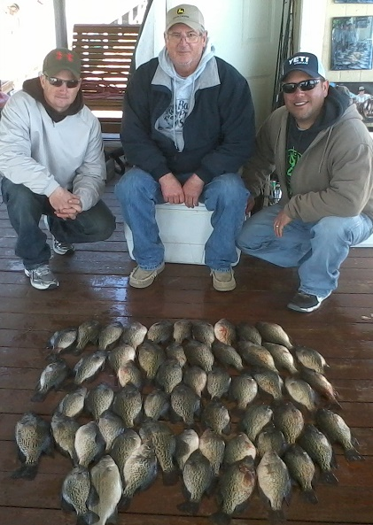 04-04-14 Schrade Crappie Keepers with BigCrappie