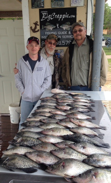04-17-2014 Lynch  Keepers with BigCrappie