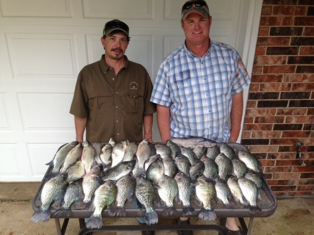 04-19-2014 nice mess of crappie BigCrappie