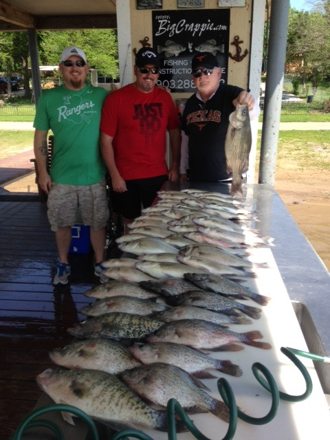 04-23-2014 Justiss/Shinn keepers with BigCrappie