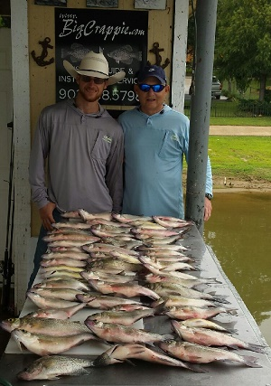 07-19-14 DIVELEY KEEPERS WITH BIGCRAPPIE TEXAS