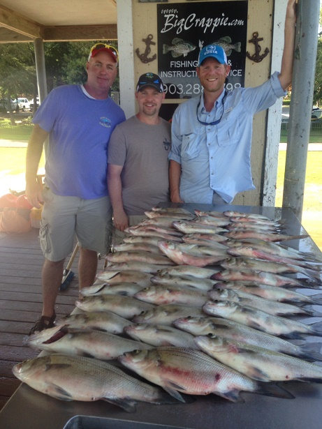 08-09-14 Hocutt Keepers with BigCrappie Texas