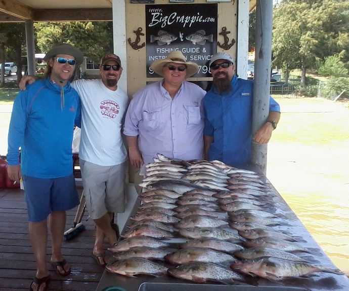 08-09-14 Owen Keepers with BigCrappie Guides TX