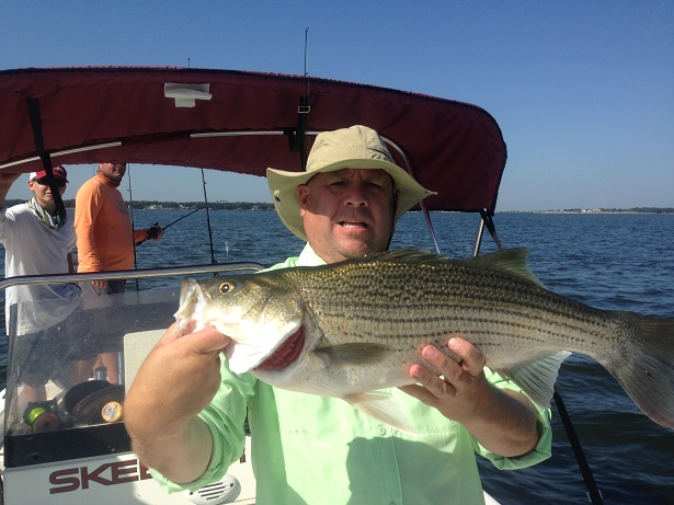 08-10-14 Gammill Hybrid with BigCrappie Guides Tx