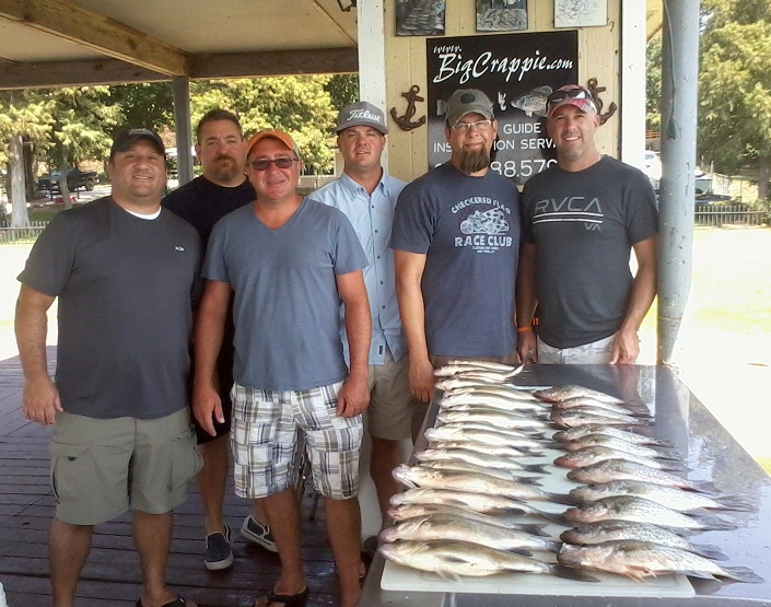 08-15-14 Frazier Keepers with BigCrappie Guides TX